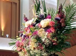 סידורי פרחים באירוע